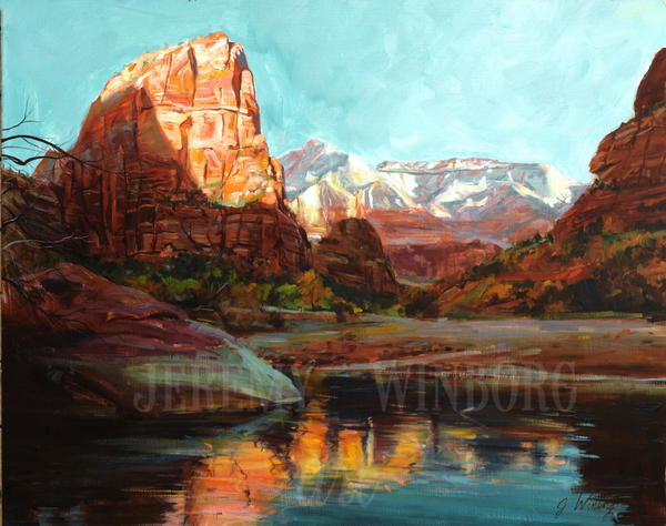 Zion Morning Giclée Print