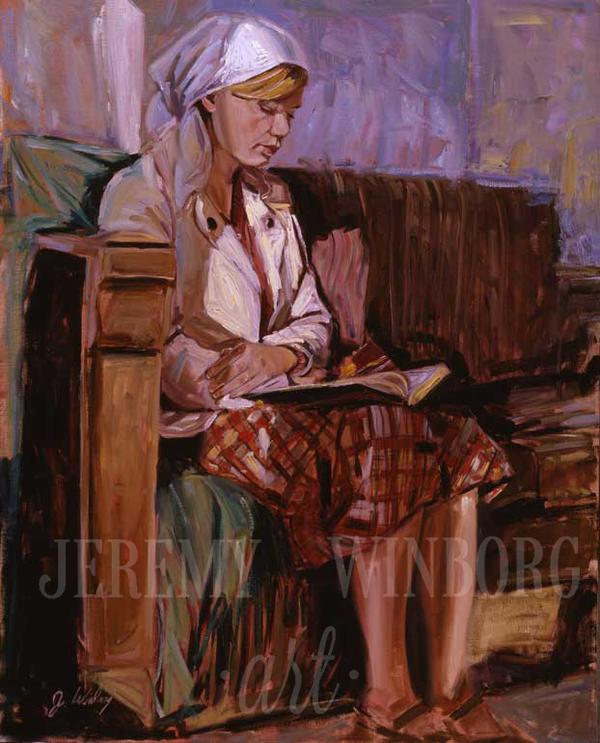 Libri i Mormonit Giclée Print