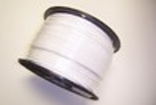 "WHITE Vinyl Coated Cable, 1/8"" - 3/16"", 7x7, 1000 ft reel"