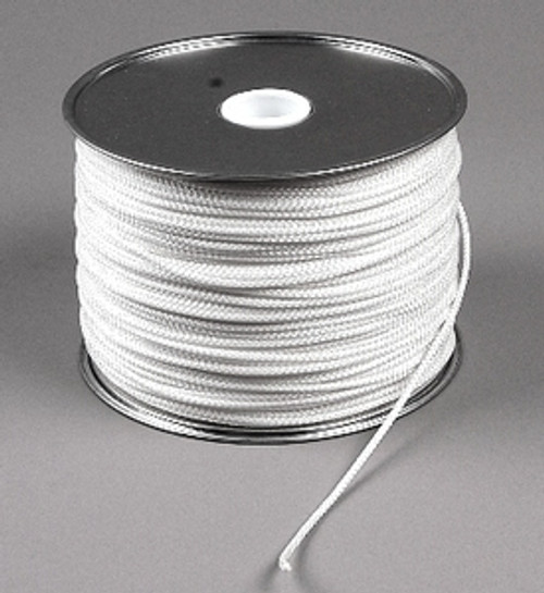 "Diamond Braid Polyester Cord, 3/16"", 500 ft reel"