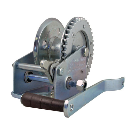 """12 lb Ratchet Winch with 2"""" Hub"""