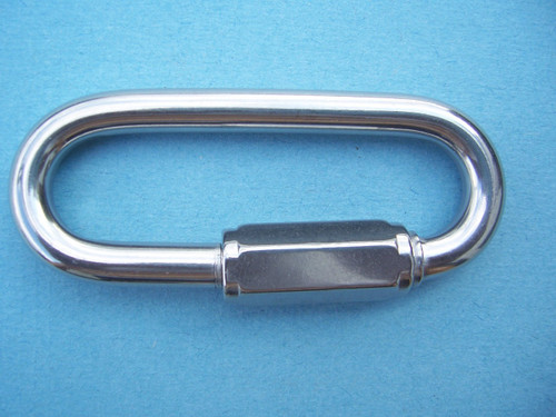 Stainless Steel Wide Jaw Quick Link, 5/16""