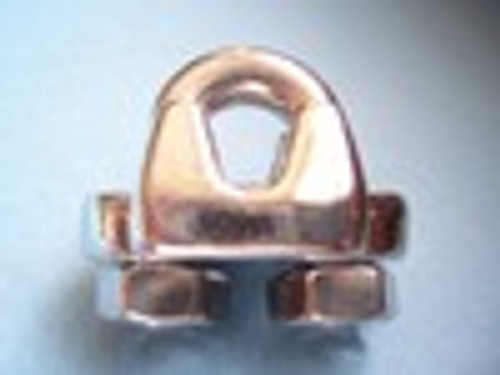 T316 Stainless Steel Heavy Duty Wire Rope Clip 1/8""