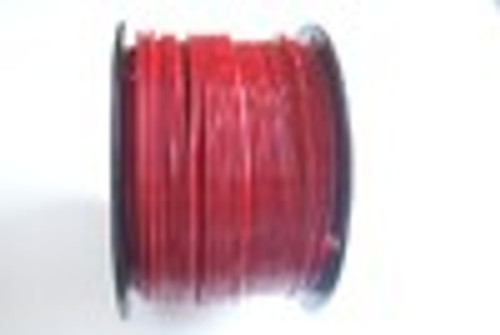 """RED Vinyl Coated Cable, 1/8""""-3/16"""", 7x7, 500 ft reel."""