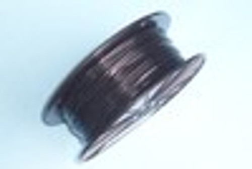 """BLACK Vinyl Coated Cable, 1/16""""-3/32"""", 500 ft"""