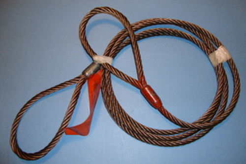 """3/8"""" X 5 ft Wire Rope Sling"""