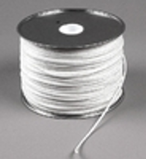 "Diamond Braid Polyester Cord, 1/8"", 1000 ft reel"
