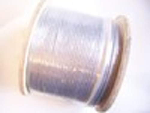"Galvanized Cable 3/16"", 7x19, 1000 ft reel"