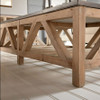 """Blue Stone Coffee Table 63"""""""