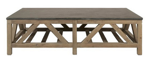 """Blue Stone Coffee Table Extra Large 63"""""""