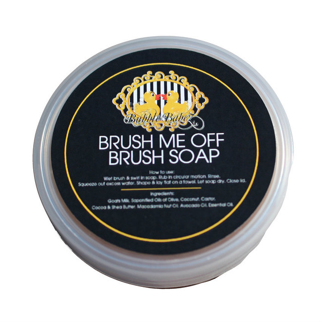 How To Care for your Brush Me Off Soap