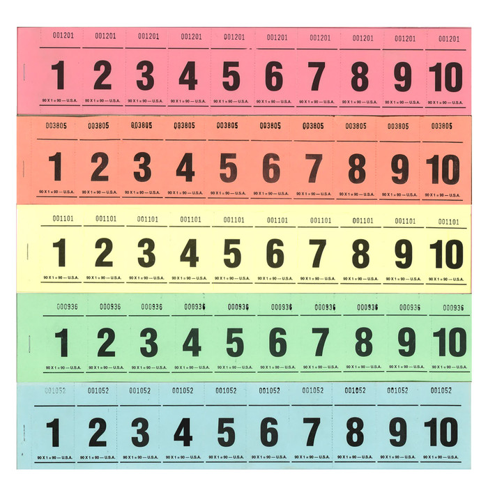 Paddle Tickets - 90 x 1