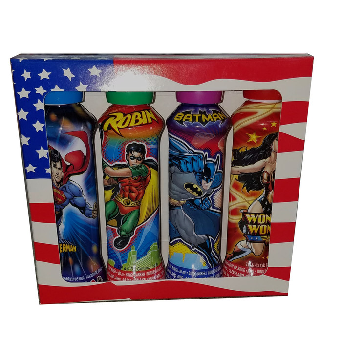 Super Hero 4 Pack