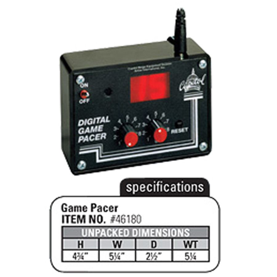 Digital Game Pacer
