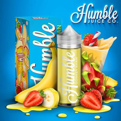 HUMBLE - DONKEY KAHN 0MG 100ML SHORTFILL - mix shake n vape