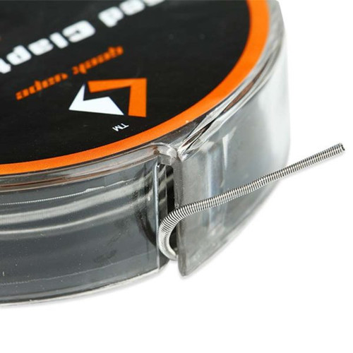 Geek Vape Fused Clapton SS316 Wire (26GA*2/Paralleled + 30GA ...
