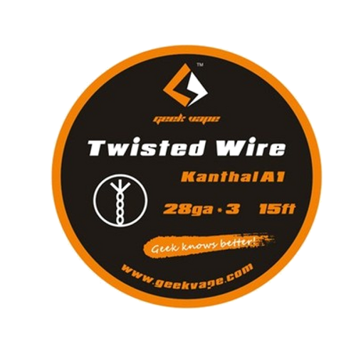 Geek vape Twisted Wire (Kanthal A1 28ga*3 15ft)