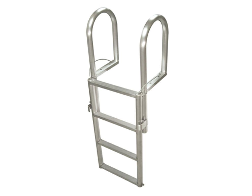 HarborWare 4-Step Finger Pier Dock Lift Ladder