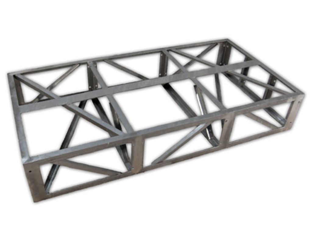 HarborWare 4'x10' Galvanized Steel Dock Frame