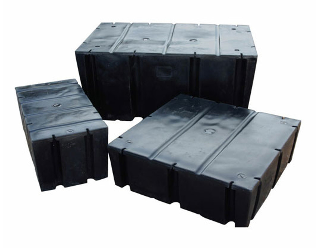 "HarborWare 3' x 8' x 12"" Dock Float Drums, 1210lbs"