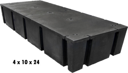 "HarborWare 4' x 10' x 24"" Dock Float Drums, 4208lbs"