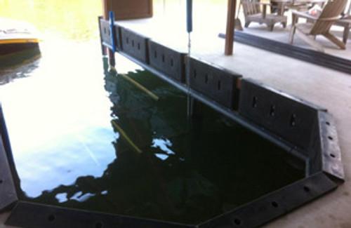 HarborWare Gas Dock Bumper with Lip 46x20x4-inch