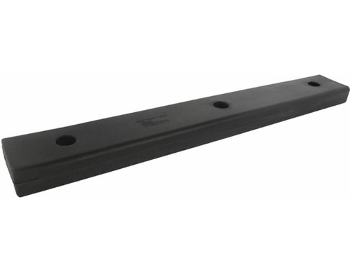 HarborWare 3' Vertical Post Dock Bumper, Single Lip (Box of 12)