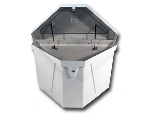 HarborWare Dock Box 51x31x27-inch Triangle