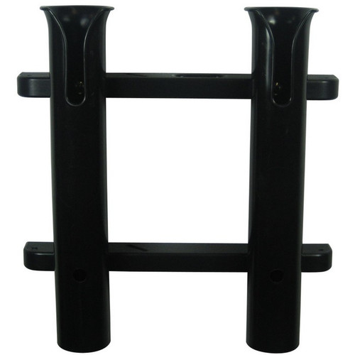 TACO Metals 2-Rod Black PVC Deluxe Fishing Rod Rack