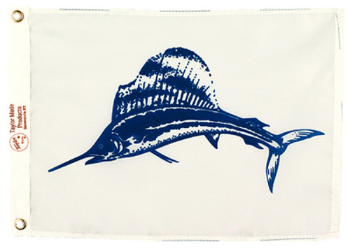 "Taylor Made Flag 12"" x 18"" Nylon Sailfish"