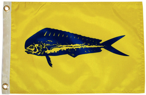 "Taylor Made Flag 12"" x 18"" Nylon Dolphin"