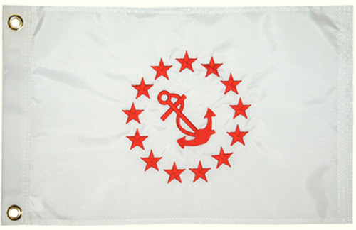 "Taylor Made Flag 12"" x 18"" Rear Commodore"