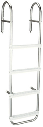 "Garelick 4 Step 43"" Over Rail Ladder"