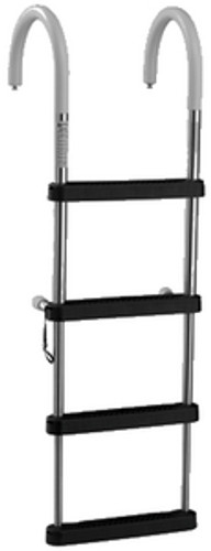 Garelick 4 Step Telescoping Pontoon Ladder