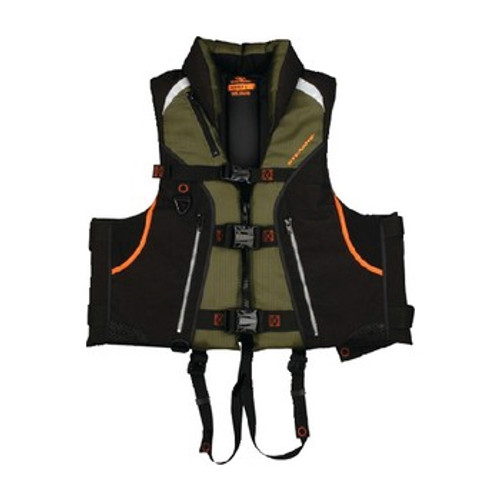 Stearns Adult Trophy Fishing PFD Vest, Green