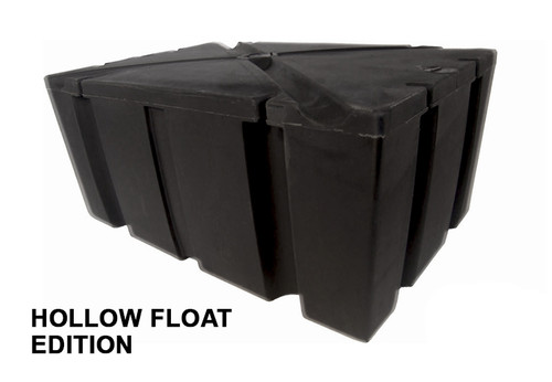 "HarborWare 2' x 4' x 16"" HOLLOW NO-FOAM Dock Float Drum"