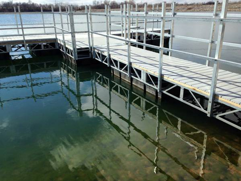 How to Build a Floating Dock in 60 Seconds