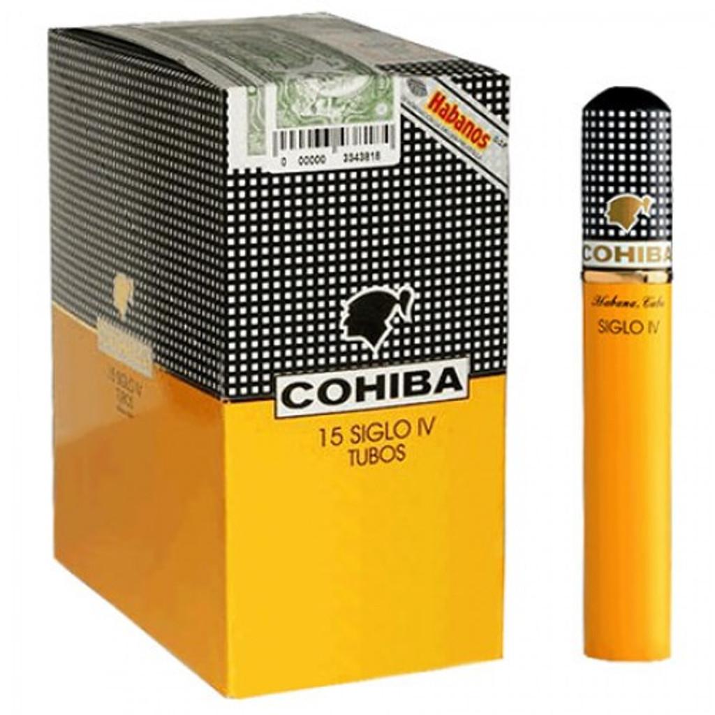 Cohiba Siglo IV - Box of 15 (5x3) Aluminium Tubes