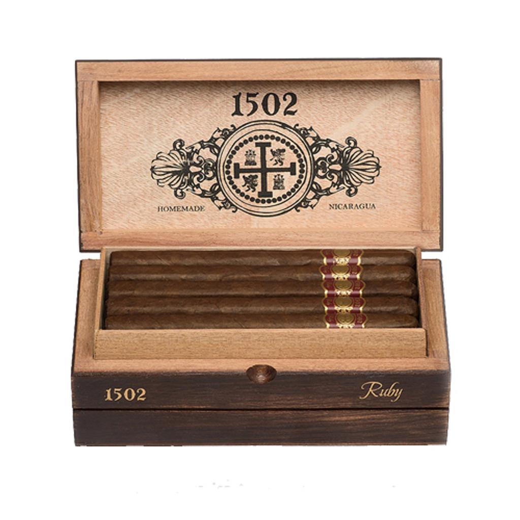 1502 Ruby Lancero Box Pressed (box of 25)
