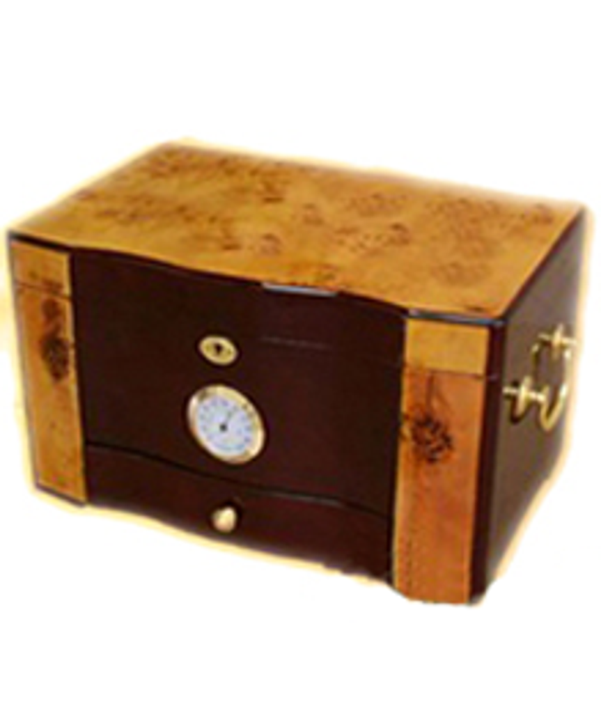 Humidor Mixed Color Polished - Exterior