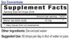 2oz Boron supplement facts - Eidon Ionic Minerals
