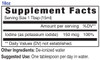 18oz Iodine mineral supplement facts - Eidon Ionic Minerals