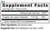 18oz Copper mineral supplement facts - Eidon Minerals