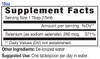 18oz Selenium mineral supplement facts - Eidon Ionic Minerals