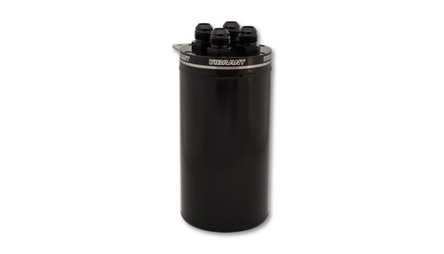 Vibrant Universal Catch Can, Recirculating Closed Loop Top- Anodized Black