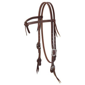 Working Tack Futurity Knot Browband Headstall