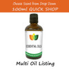 100ml Essential Oil - 100% Pure & Natural - Choose Fragrance