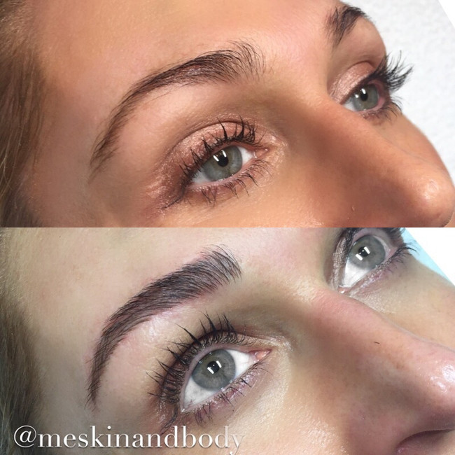 Feathertouch Eyebrow Tattoo