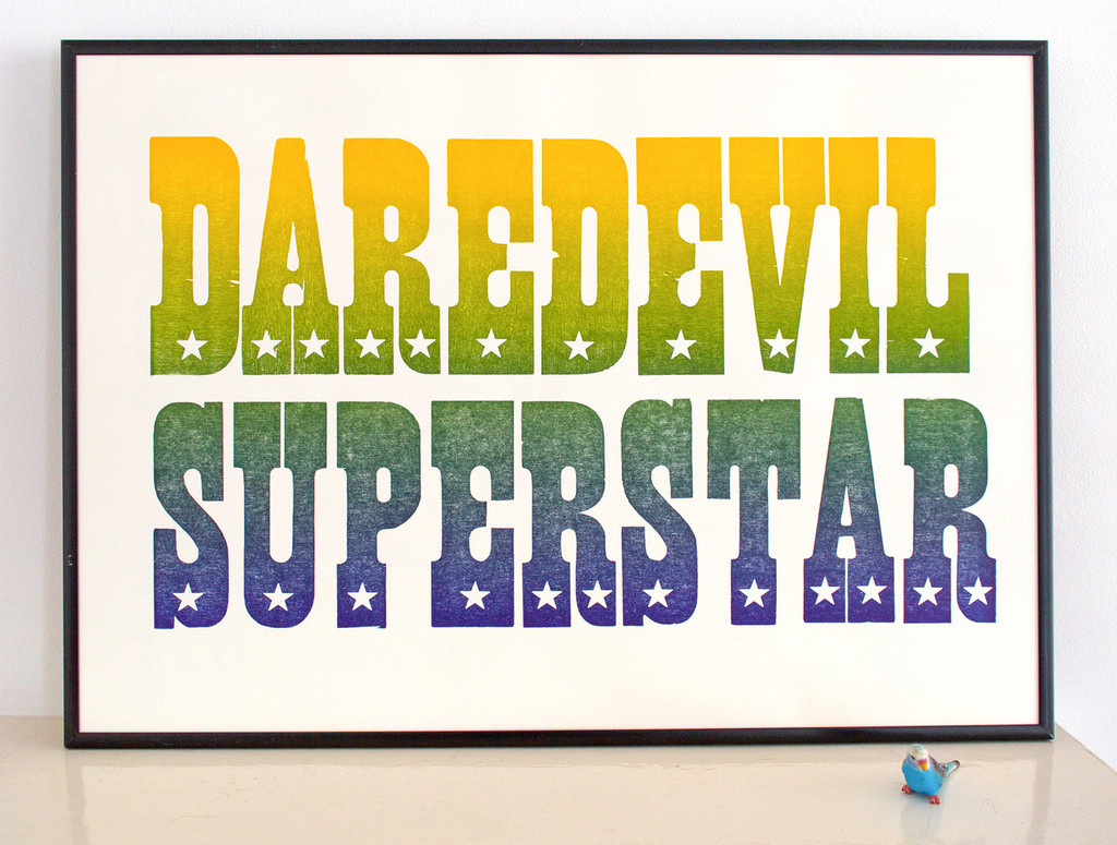 Daredevil Superstar - Limited Edition Print