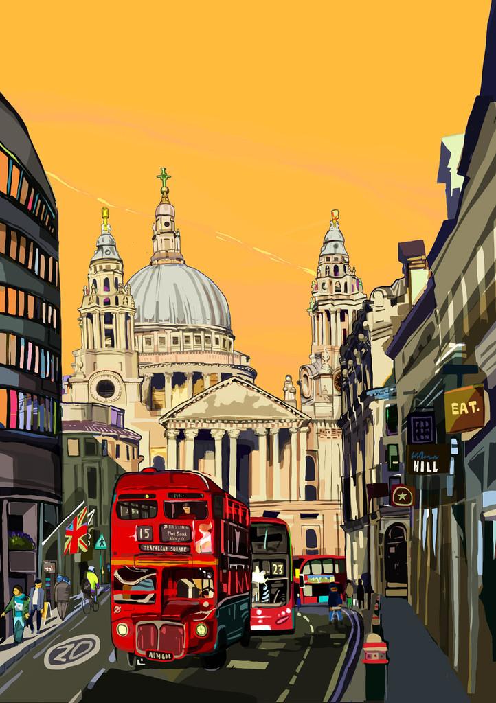 St Paul's Orange